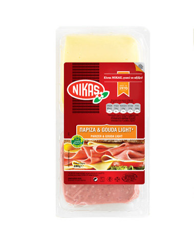 Parizer and Gouda Slices 280g Nikas