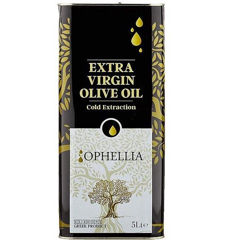 Extra Virgin Olive Oil 5 Lt Ophellia