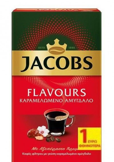 Filter Coffee with Roasted Almond Flavour  250g Jacobs