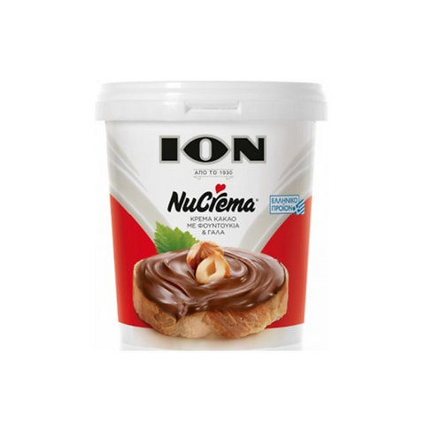 ION Nucrema Cocoa Spread with Hazelnuts and Milk Spread 400g