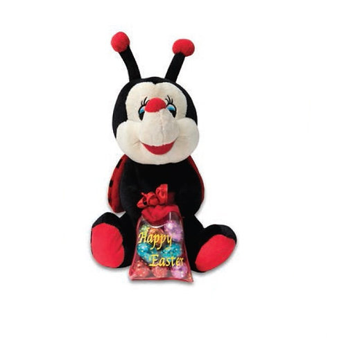 Ladybird with Chocolate Eggs 250g
