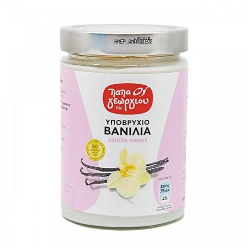 Vanilla Water Sweet (Ypovrixio) 420g Papageorgiou