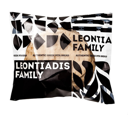 Pita Bread Golden 16cm Leontiadis Family 700g