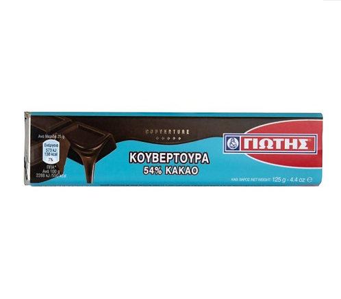 Couverture 54% Cacao 125g Jotis