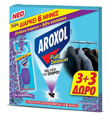 Anti Moth Lavender Gel 3+3 Aroxol
