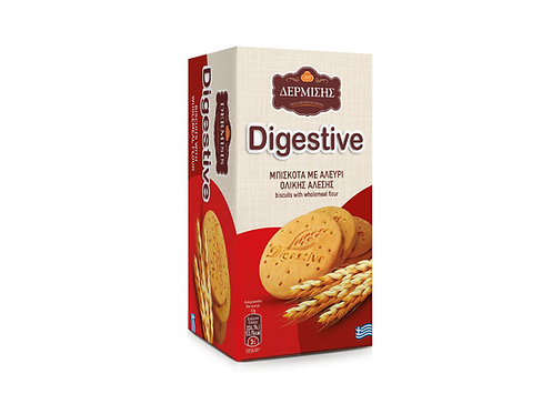 Digestive Biscuits with Wholemeal Flour 220g Dermisis