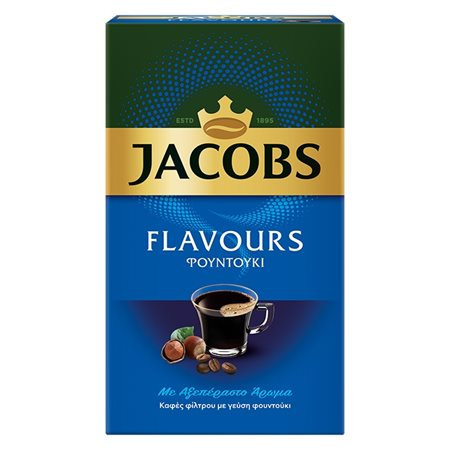 Filter Coffee with Hazelnut Flavour  250g Jacobs