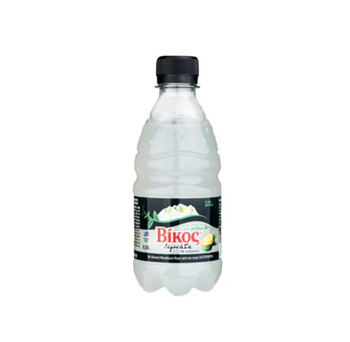 Lemon Carbonated Soft Drink With Stevia 330ml Vikos