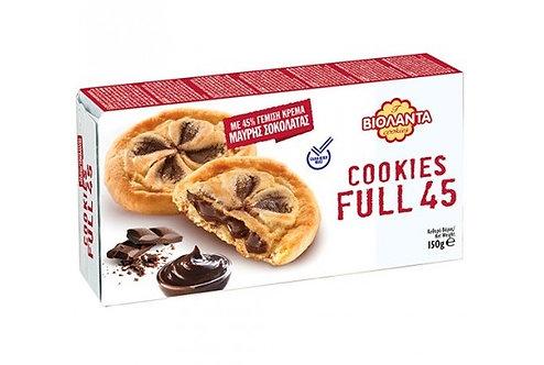 Cookies Filled with Dark Chocolate Cream 150g Violanta