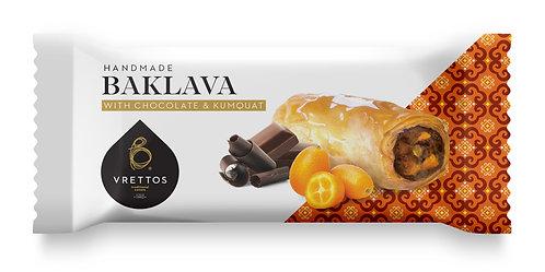 Baklava with Chocolate and Kumquat 70g Vrettos