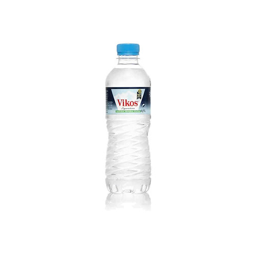 Greek Natural Mineral Water From The Zagorochoria Source 500ml Vikos