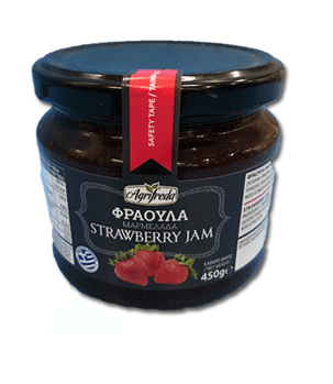 Strawberry Jam 450g Agrifreda