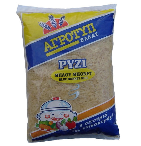 Parboiled (Blue Bonnet) Rice 500g Agrotyp