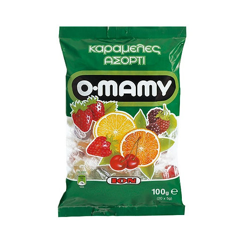 O-Mamy Assorties Candies 4 Flavours 100g ION