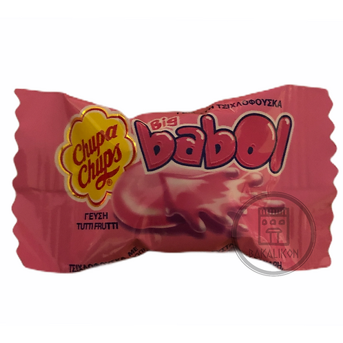Filled Chewing Gum with Tutti Frutti Flavour Big Babol