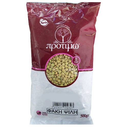 Brown Medium Lentils (Psiles Fakes) 500g Protimo