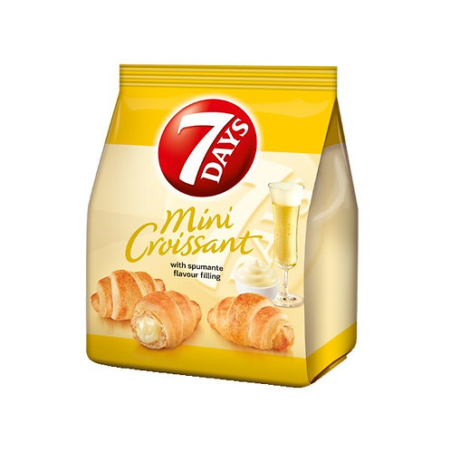 Mini Croissant with Spumante Filling 185g 7Days