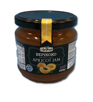Apricot Jam 450g Agrifreda