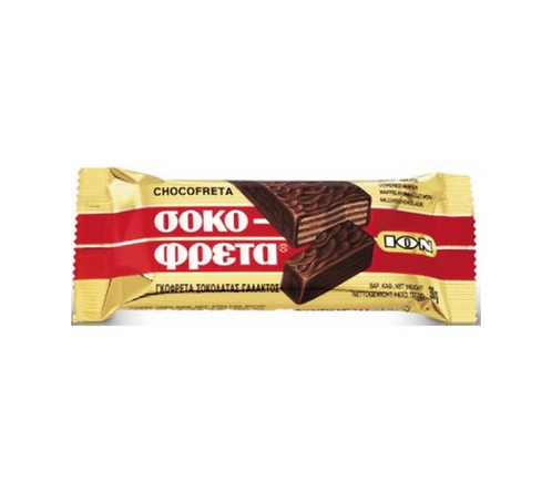 ION Chocofreta Milk Chocolate Covered Wafer 38g