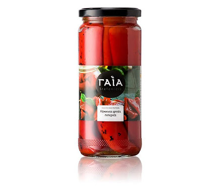 Roasted Red Peppers 340g Gaia