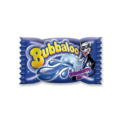 Filled Chewing Gum Blueberry Flavour Bubbaloo