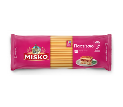 Greek Pasta No2 for Pastitsio 500g Misko