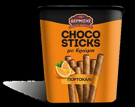 Choco Sticks with Orange Cream 310g Dermisis