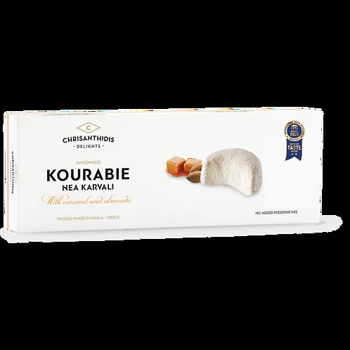 Kourabie with Caramel and Almonds 200g Chrisanthidis