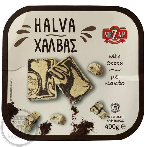 Halva with Cocoa 400g Mezap