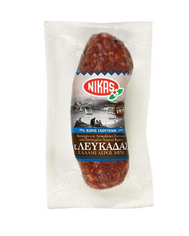 Lefkada Type Dry Salami 165g Nikas