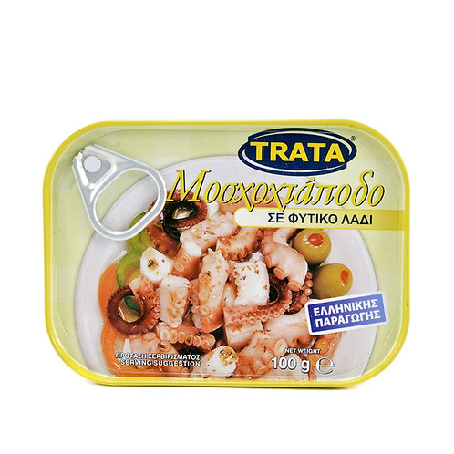 Musky Octopus in Vegetable Oil 100g Trata