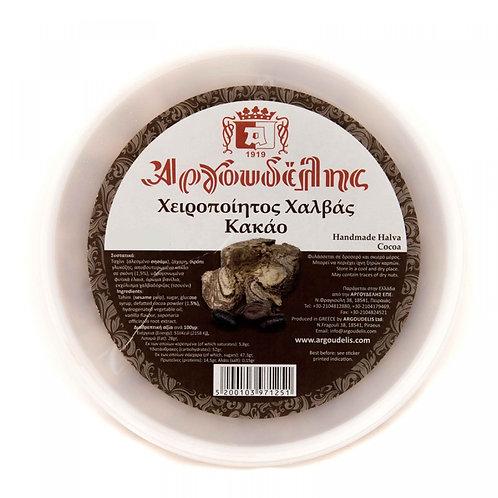 Handmade Halva Cocoa 450g Argoudelis