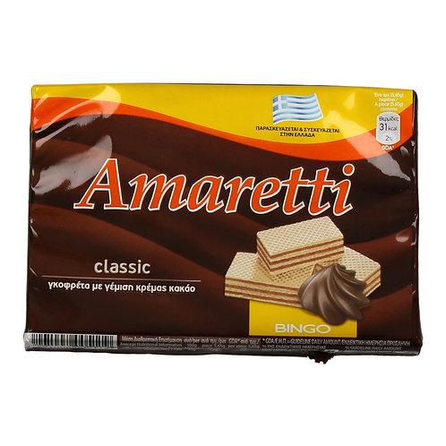 Wafer with Cocoa Cream Filling 68g Amaretti