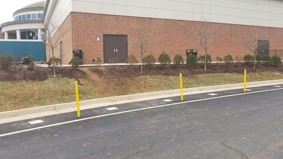 Landscaping in Lynchburg at Liberty University