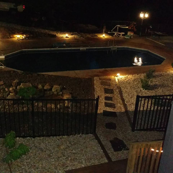 Lighting Design and Hardscaping