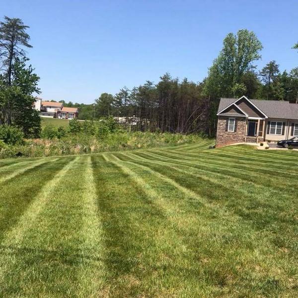 Lawn Mowing Stripes