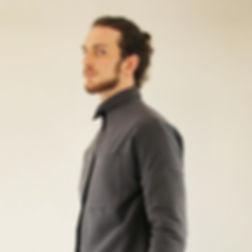 wool grey man jacket alessio bardelle