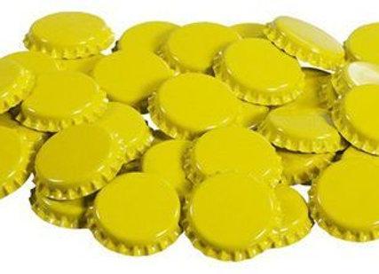 Sarı Taç Kapak 120 Adet - TazeMayşe