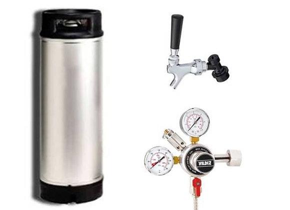 5 Gallon (19 lt.) Fıçı Seti 2 - Fıçı Bira