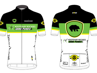 Kootenay Rockies Gran Fondo Jerseys and Shorts are Arriving Soon...