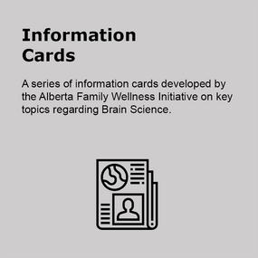 Information Cards Brain Development