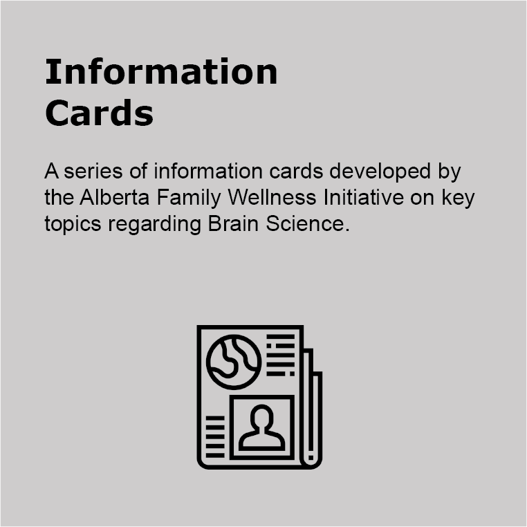 Information Cards Brain Development