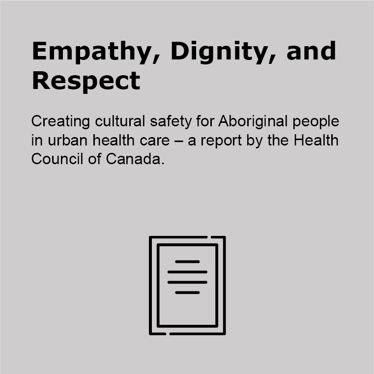 Empathy, Dignity and Respect