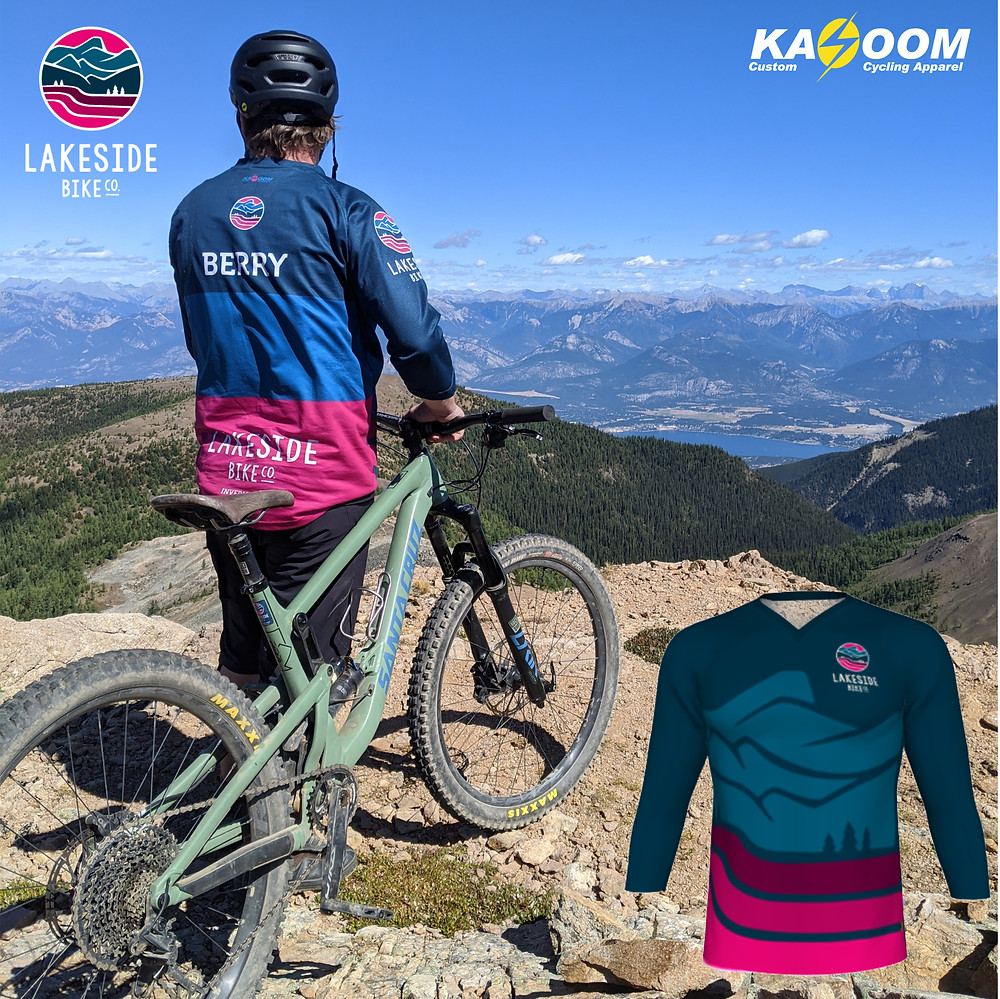 Custom Mountain Bike Jersey