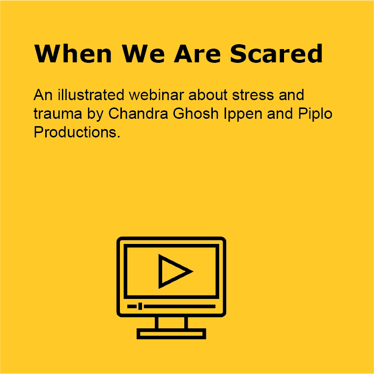 When we are scared- webinar about stress and trauma