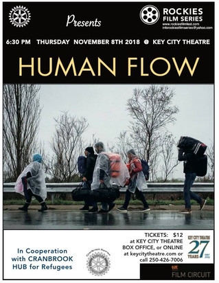 Human Flow - a film about the staggering scale of the refugee crisis through a series of human stori