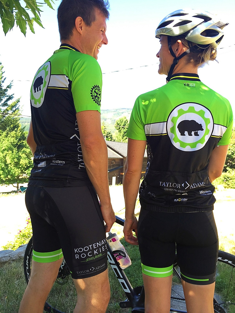 Kazoom Custom Cycling Apparel Kootenay Rockies Gran Fondo