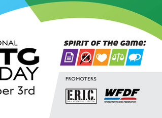 Spirit of the Game Day - December 3rd, 2017.