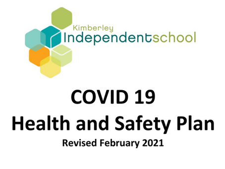Updated COVID-19 Health & Safety Plan
