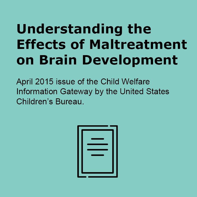 Understanding the effects of maltreatment on brain development